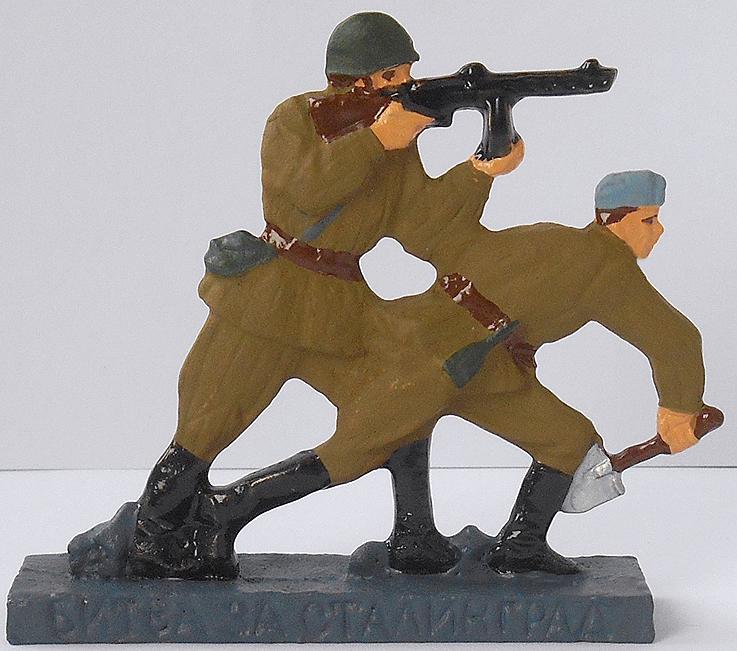 года выпусков военых оловянных солдатиков